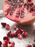 Halved Pomegranate With Seeds