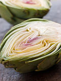 Halved Artichoke