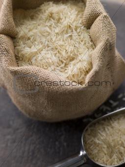 Basmati Rice In Sack