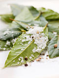 Bay Leaves With Sea Salt