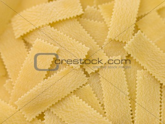 Dried Pasta Strips
