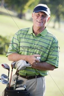 Portrait Of A Male Golfer