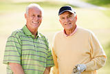 Man, Woman, Couple, Golf, Golf Course, Smiling, Senior Adult, Go