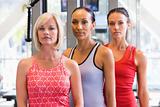 Portrait Of Women At Gym