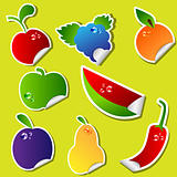 Fruit sticker set