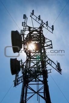 Cellphone antenna tower