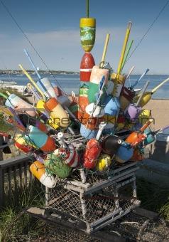 Fisherman buoys