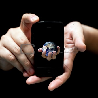 The world in your hands... smartphone