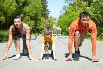 Run in park