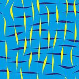 Blue seamless patten