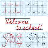 Welcome to school card