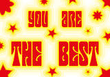 You are the best