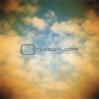 Old sky background