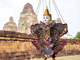 Puppet at Angkor Cambodia