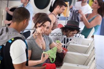 Laundromat Flirt