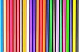 closeup of color pencils colorful random