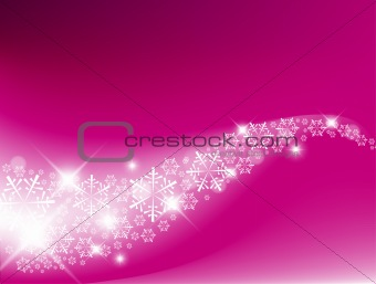 Purple  Abstract Christmas background