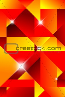 Cubism abstract background