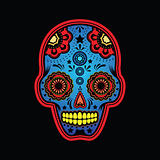 sugar skull colored version