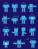 cute emotional robots