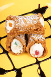 Original mini sicilian cannoli