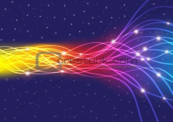 Glowing Fibers