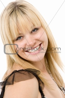 Portrait Of Woman Smiling
