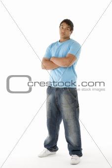 Portrait Of Teenage Boy