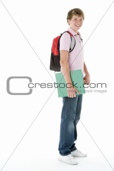 Portrait Of Teenage Schoolboy