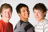 Portrait Of Teenage Boys