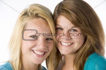Portrait Of Teenage Girls
