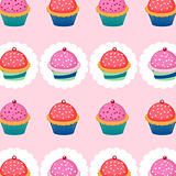 Sweet cupcakes pattern