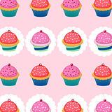 Sweet cupcakes pattern