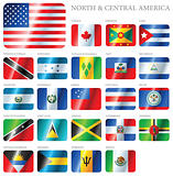 Flags North and Central America