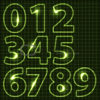Set of neon numbers