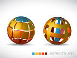 Collection of abstract spheres