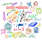 Back to school - illustrations