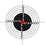 Illustration of a target symbol
