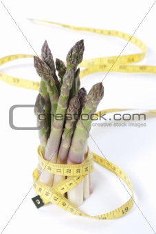 Asparagus and measuring type