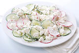Fresh radish salad