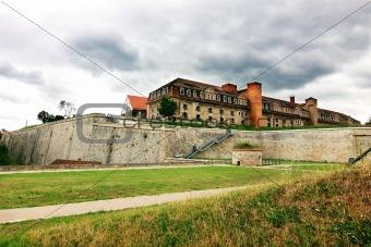 Citadel on Petersberg in Erfurt
