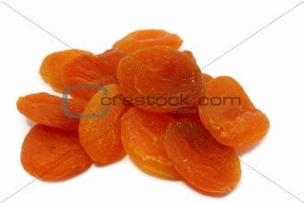 a few dried apricots