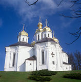 St. Katheryna's church in Chernigiv, Ukraine