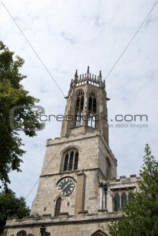 All Saints Pavement Church Tower