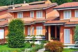 Italian townhouses style
