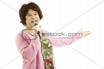 Celebrity Female Impersonator