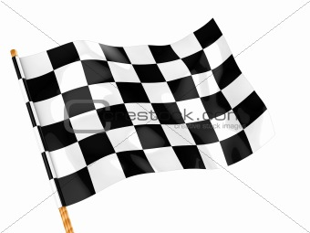 checkers flag