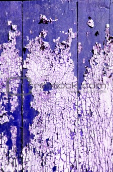 painted and cracked old door background