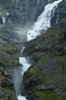 Waterfall Stigfossen