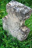 old cemetery cross